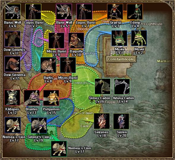 Карта Мобов В Silkroad
